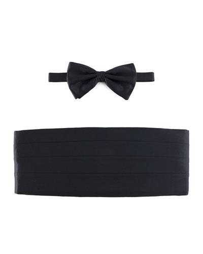 Cummerbund & Bow Tie Set