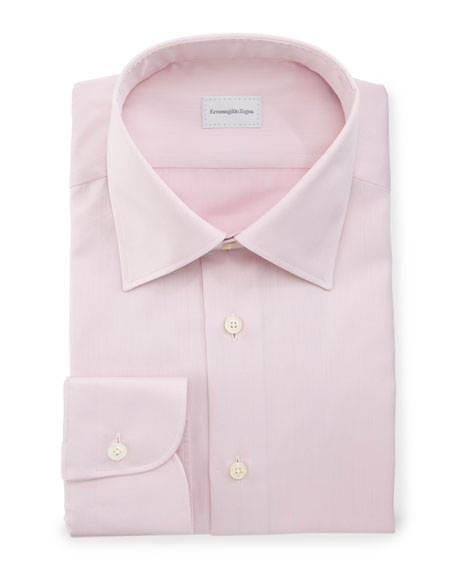 Basic Dress Shirt, Pink