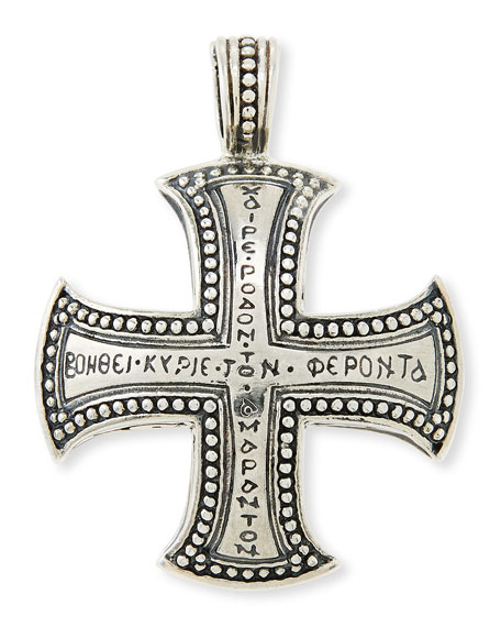 Konstantino Men's Dare Sterling Silver Cross Pendant