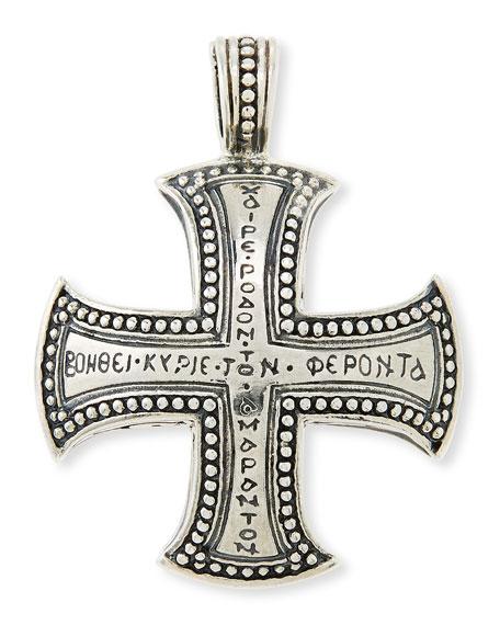 Konstantino mens dare sterling silver cross pendant neiman marcus mens dare sterling silver cross pendant aloadofball Gallery