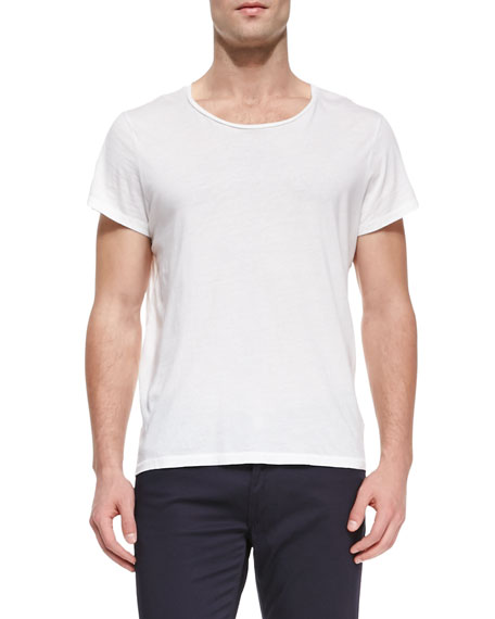 Acne Studios Crewneck Relaxed-Fit T-Shirt & Fred Main