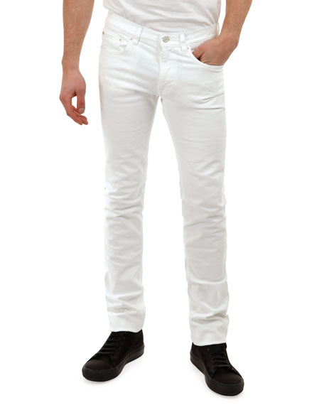 Acne Studios Ace White Denim Jeans