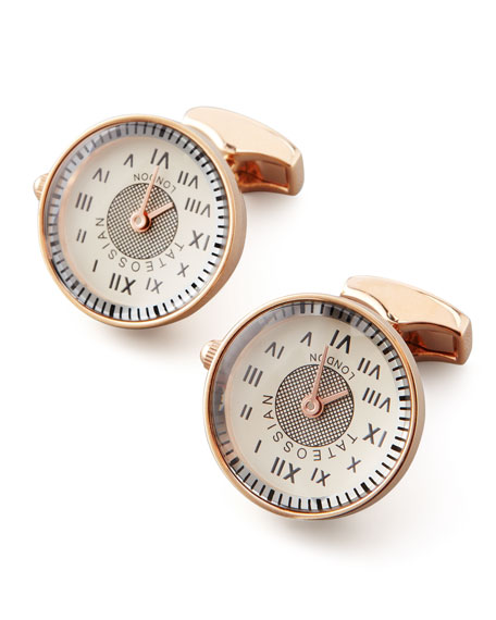 Vintage Watch Cuff Links