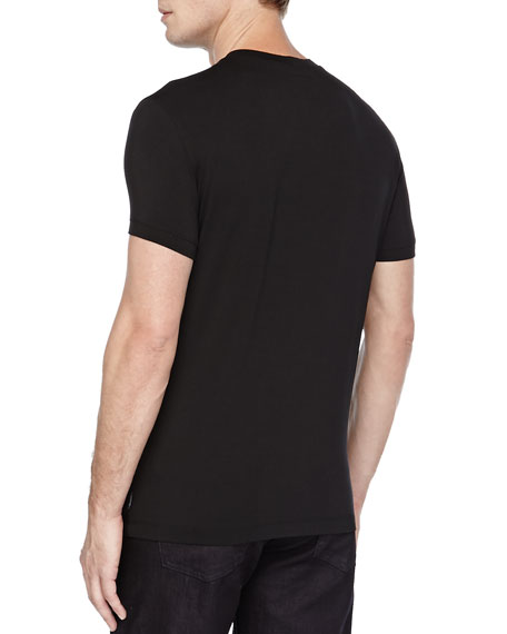 Jersey T-Shirt, Black