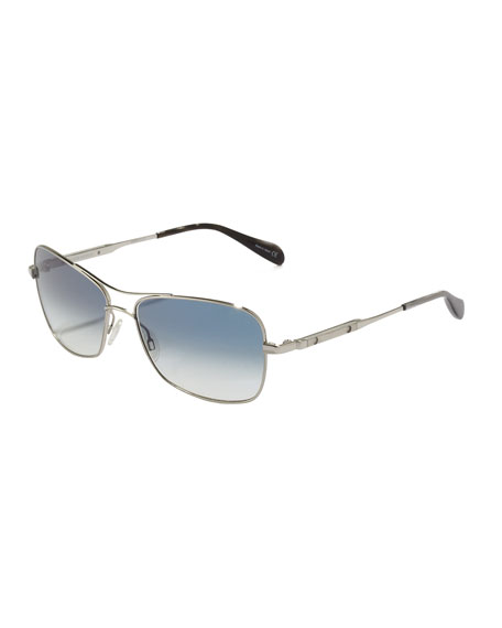 Sanford Photochromic Sunglasses, Silver