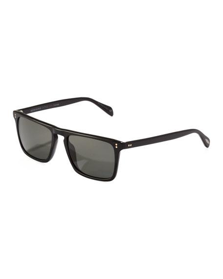 Bernardo Polarized Sunglasses, Black