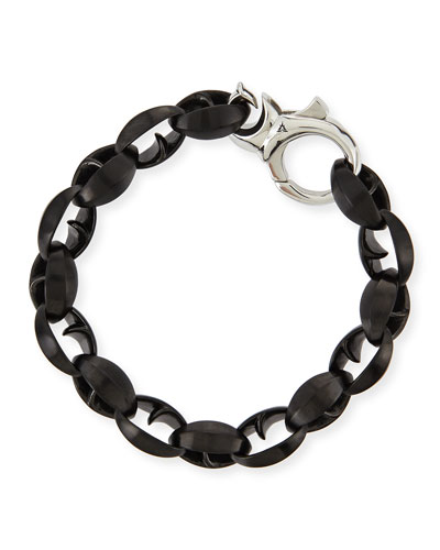Stephen Webster Steel Thorn Link Bracelet