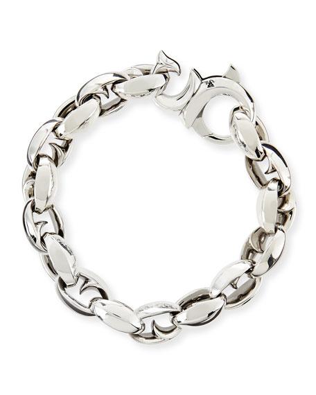 Sterling Thorn Link Bracelet