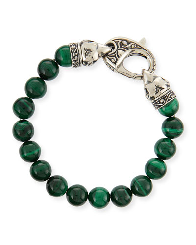 Stephen Webster Malachite Beaded Bracelet