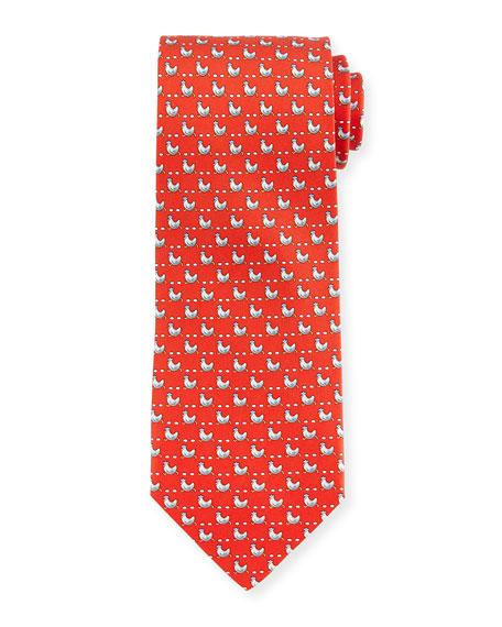 woven tie - Red Salvatore Ferragamo 8LSiGT5tnW