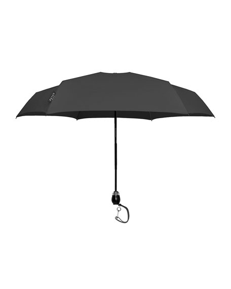 Davek Traveler Small Umbrella, Black