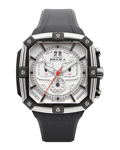 Brera 46mm Supersportivo Square Watch