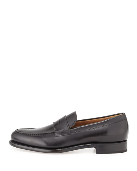Rinaldo Tramezza Penny Loafer, Black