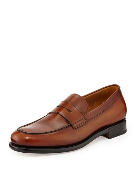 Rinaldo Tramezza Penny Loafer, Brown