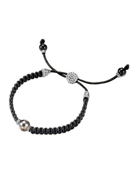 Batu Classic Chain Silver Dragon Station Bracelet