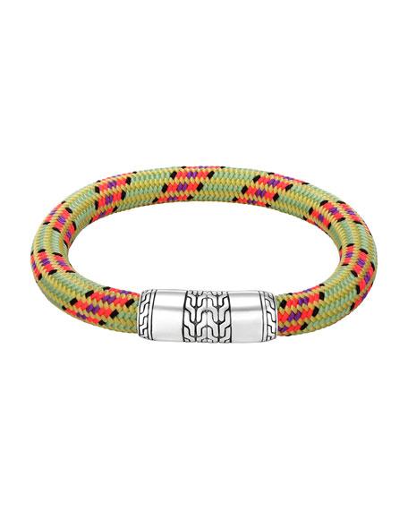 John Hardy Men's Classic Chain Multicolor Cord Bracelet