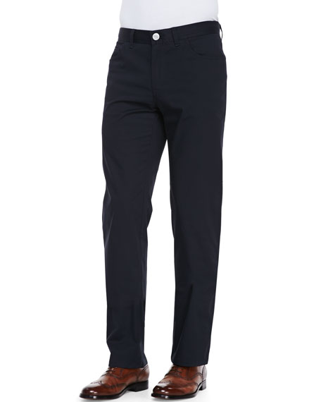 Brioni Stelvio 5-Pocket Trousers, Navy
