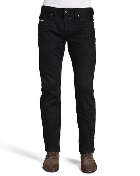 Diesel Safado Straight Jeans, Black