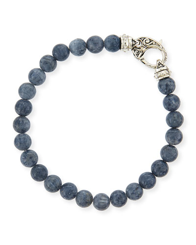 Stephen Webster Gray Coral Beaded Bracelet