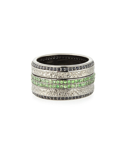 Stephen Webster Men's Sapphire & Tsavorite Ring