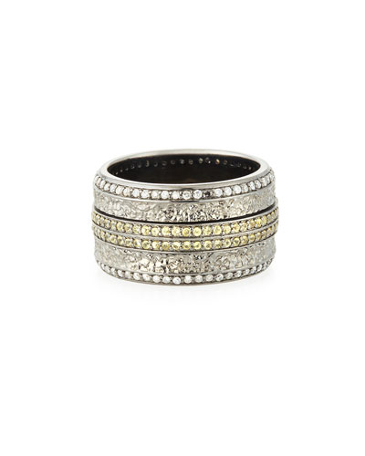 Stephen Webster Men's Sapphire & Diamond Pave Ring