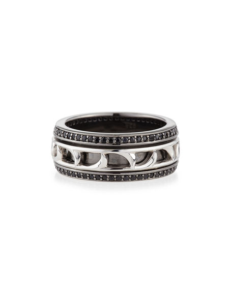 Stephen Webster Men's Thorn Spinning Band Ring