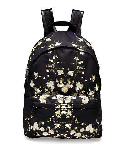 Baby's Breath Printed Backpack