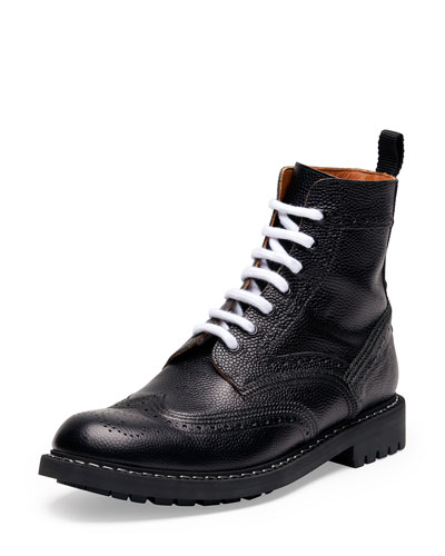 Commando Leather Runway Boot