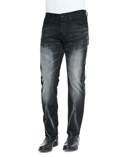 Barracuda Faded Wash Denim Jeans