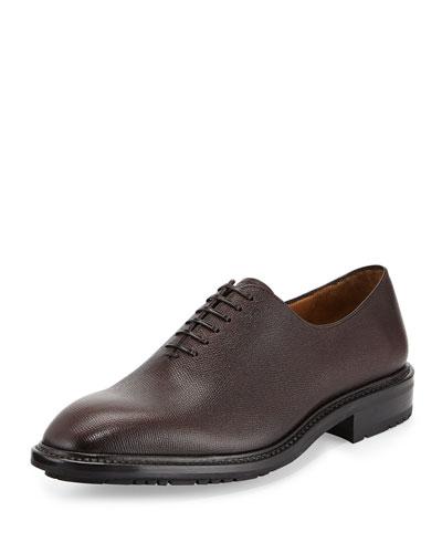 Salvatore Ferragamo Carmelo 3 Lace-Up Shoe, Brown