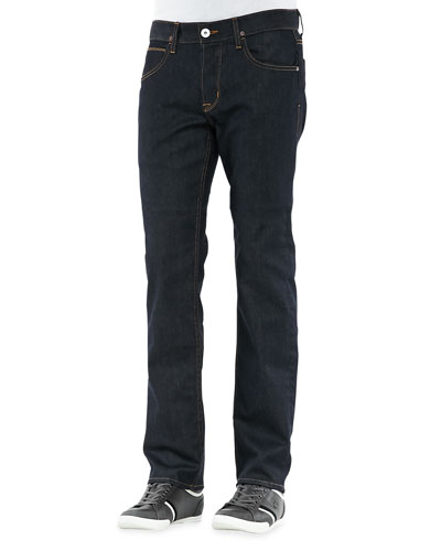 Byron Edges Dark Jeans, Dark Blue