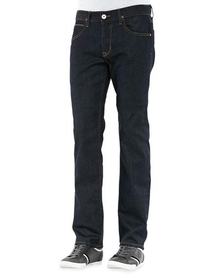 Byron Edges Dark Jeans, Dark Blue