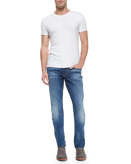 Byron Straight-Leg Melt Jeans