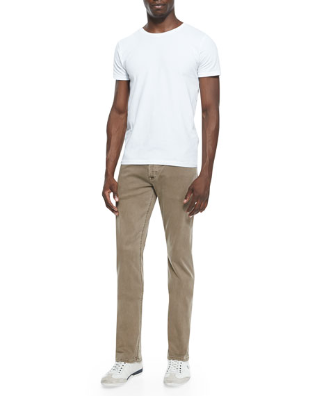 Byron Sunfaded Lightweight Jeans, Bark