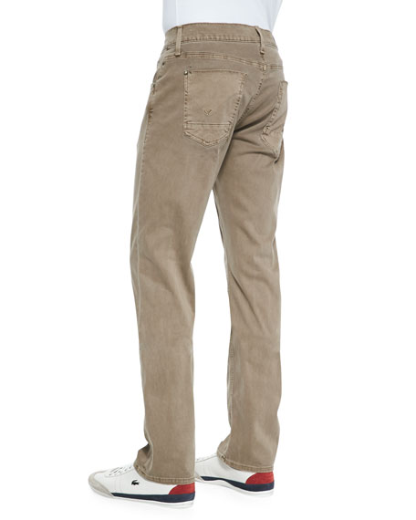 Byron Sunfaded Lightweight Jeans, Bark