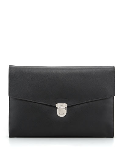 Saffiano Leather Portfolio