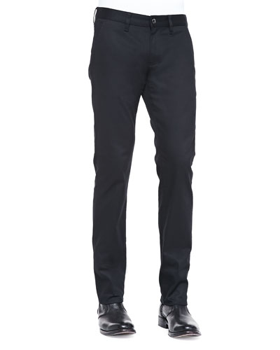 John Varvatos Star Usa Bowery-Fit Trouser Jeans, Black