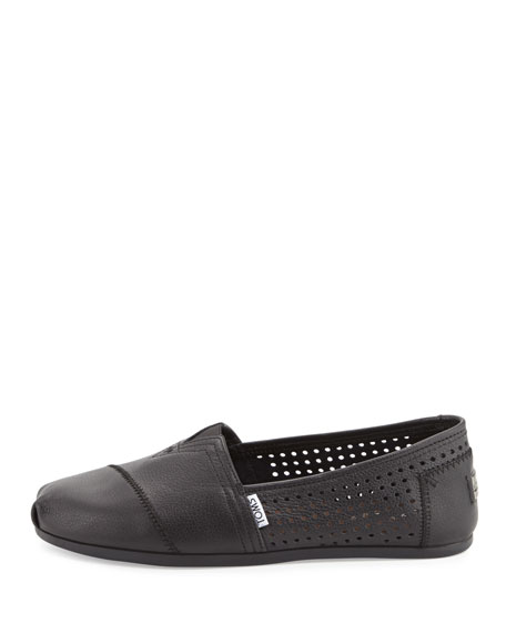 304378a33b6 TOMS Classic Perforated Leather Slip-On