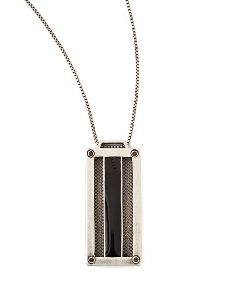 Amp Pendant Necklace