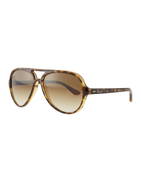 ray ban cats 5000 classic sunglasses tortoise neiman marcus. Black Bedroom Furniture Sets. Home Design Ideas