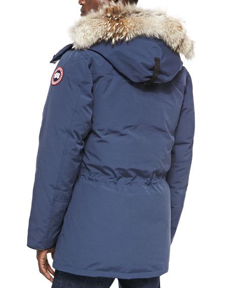 Canada Goose vest online discounts - Canada Goose Banff Parka with Fur-Trim Hood, Blue