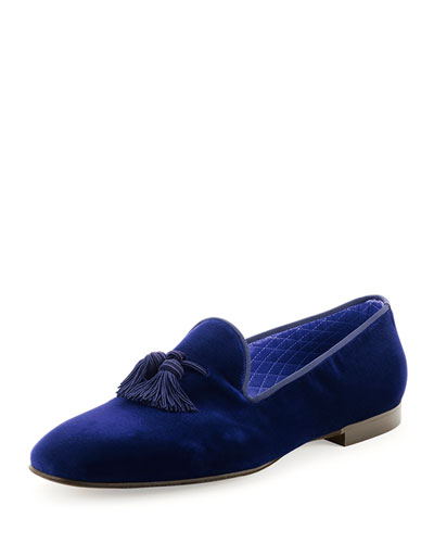 Tom Ford William Velvet Evening Slipper