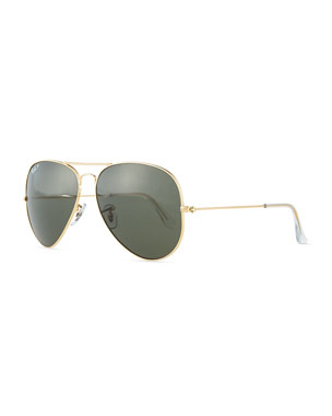 d369a29c1d Ray-Ban Original Aviator Polarized Sunglasses