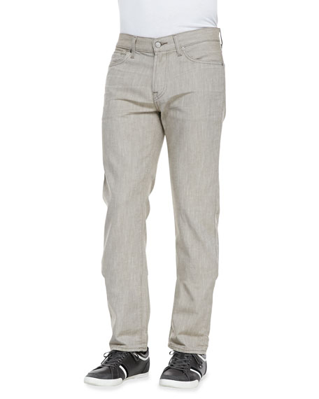 Slimmy Khaki Denim Jeans