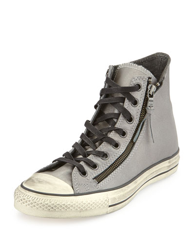 Chuck Taylor All Star High-Top Sneaker, Silver