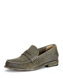 Greg Penny Loafer, Gray