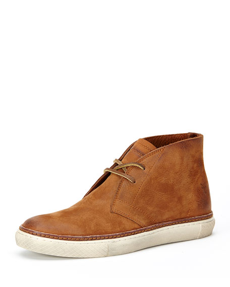 Frye Gates Leather Chukka Boot, Brown
