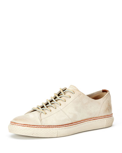 Gates Low-Top Lace-Up Sneaker, Off-White