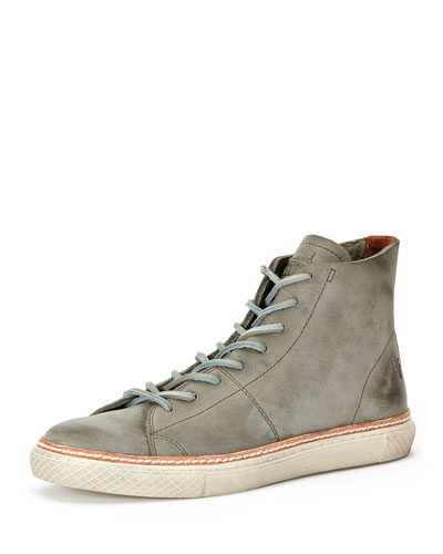 Gates High-Top Shoe, Charcoal