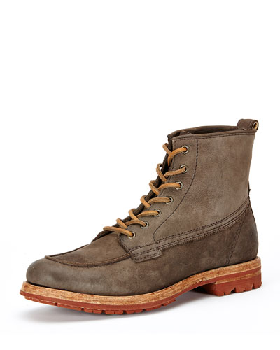 Phillip Lug Workboot, Charcoal